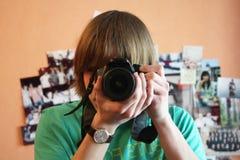 Un tiro del hombre Foto de archivo libre de regalías