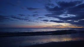 Un tiro del horizonte del ` s del océano almacen de metraje de vídeo