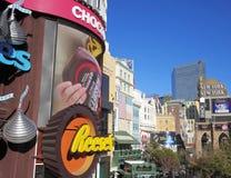 Un tiro del hotel y del casino de Nueva York Nueva York Imagen de archivo libre de regalías