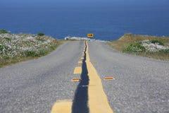 Camino del océano Fotografía de archivo libre de regalías