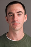 Headshot masculino caucásico Imagen de archivo libre de regalías