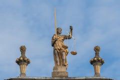 Un Titaness du grec ancien - Themis Photos libres de droits