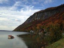 Un tocco di autunno Fotografie Stock