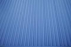 Un toit bleu Images stock