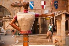 Un torneo del caballo, Toscana, Italia Fotos de archivo