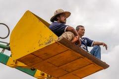 Un tour dans un taudis de bêcheurs Photo libre de droits