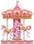 Un tour de carrousel Photo libre de droits