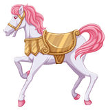 Un tour de cheval Images libres de droits