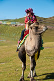 Un touriste chinois heureux Photos libres de droits