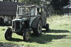 Un tractor viejo Fotos de archivo