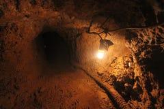 Un tradicional la minería aurífera Fotografía de archivo libre de regalías