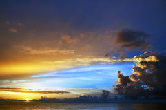 Sunfall Immagine Stock