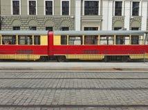 Un tramway historique à Wroclaw image stock