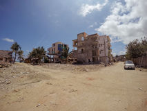 7 Un tremore di 8 grandezze colpisce la costa dell'Ecuador, Sudamerica Fotografie Stock Libere da Diritti