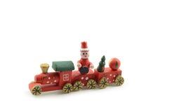 Un tren de la Navidad Imagenes de archivo