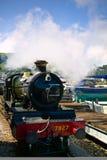 Un tren viejo del vapor Imagenes de archivo