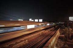 Un treno fotografia stock libera da diritti