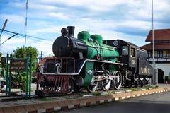 Un treno reale per la manifestazione Fotografia Stock Libera da Diritti