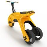 Un triciclo de los deportes con un motor eléctrico stock de ilustración
