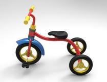 Un triciclo del bambino 3D Immagini Stock