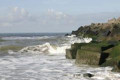 Un triturador de onda Foto de archivo libre de regalías