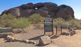Un trou dans le tir de roche, Phoenix Photos libres de droits