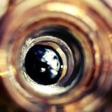 Un trou de bouteille Images libres de droits