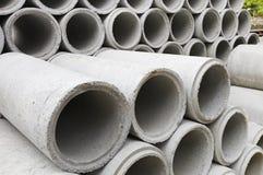 Un tubo concreto Foto de archivo libre de regalías