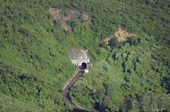 Un tunnel del treno Fotografia Stock