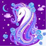 Un unicornio hermoso imagen de archivo libre de regalías
