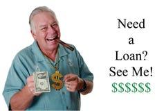 Un uomo con soldi Un uomo vince i soldi Un uomo ha soldi Un uomo fiuta i soldi Un uomo ama i soldi Un uomo ed i suoi soldi Un uom immagini stock libere da diritti
