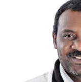 Un uomo dell'afroamericano immagine stock libera da diritti