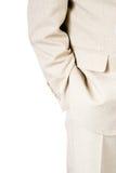Un uomo di affari in un vestito   Fotografie Stock