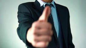 Un uomo veste un vestito alla moda aspetto elegante Uomo di affari video d archivio