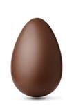 Un uovo di cioccolato Fotografie Stock Libere da Diritti