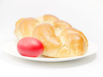 Alimento tradizionale per Pasqua Fotografia Stock Libera da Diritti