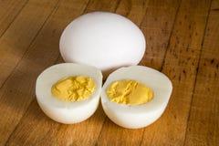 Un uovo sodo Fotografia Stock