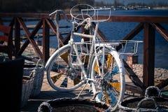 Un vélo Photographie stock libre de droits