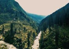 Un valle hermoso Fotografía de archivo libre de regalías
