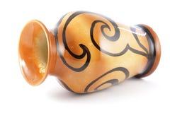 Un vaso progettato decorativo fotografie stock