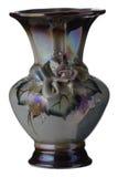 Un vaso su un fondo bianco Fotografie Stock