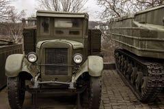 Un vecchio camion militare fotografia stock libera da diritti
