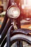 Un vecchio dettaglio della bici Immagini Stock Libere da Diritti