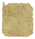 Un vecchio documento di 1931 Immagini Stock