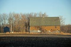 Un vecchio granaio su un'azienda agricola Fotografia Stock Libera da Diritti