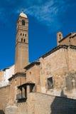 Un vecchio inTarazona della chiesa, Spagna Immagine Stock Libera da Diritti