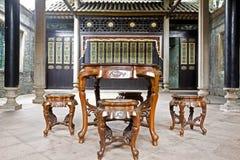 Un vecchio interiore della casa Fotografia Stock Libera da Diritti