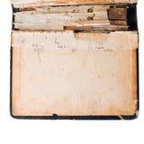 Un vecchio libro Immagine Stock