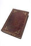 Un vecchio libro di canzone e missal di un sacerdote Fotografia Stock Libera da Diritti