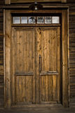 Un vecchio portello in Lulea fotografia stock